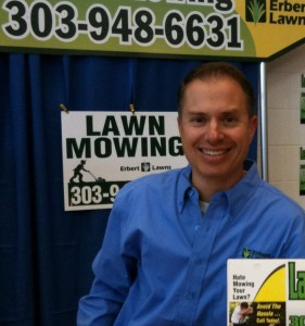 John Erbert, owner of Erbert Lawns