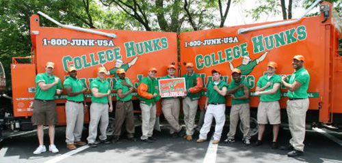 College Hunks Hauling Junk Team