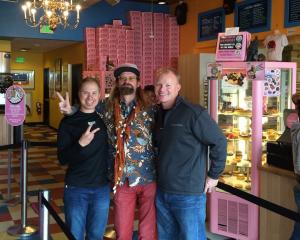 Tres Shannon at Voodoo Doughnuts