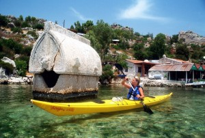 bikehike adventure - kayaking in Turkey