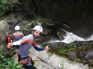 Bikehike adventure waterfall